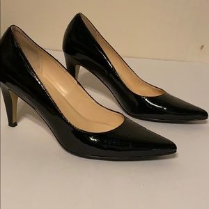 Cole Han Nike Air Patent Leather Heel Pumps
